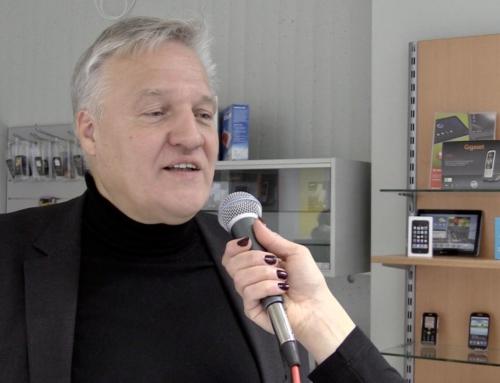 Wolfgang Spelthahn besucht das Berufskolleg Kaufmännische Schulen des Kreises Düren am Tag der offenen Tür